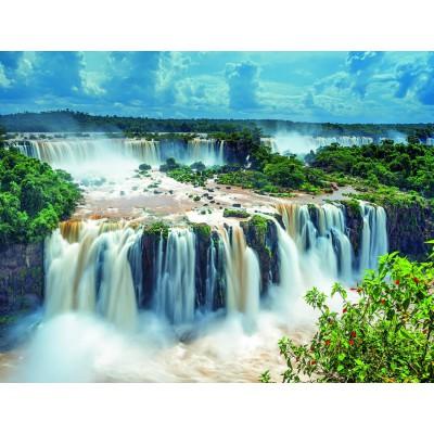 Puzzle Ravensburger-16607 Wasserfälle von Iguazu, Brasilien