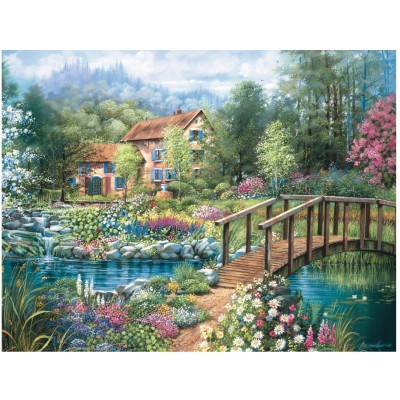 Puzzle  Ravensburger-16637 Shades of Summer