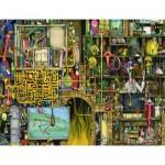 Puzzle  Ravensburger-16642 Colin Thompson - Verrücktes Labor