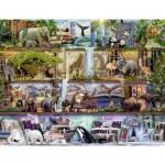 Puzzle  Ravensburger-16652 Aimee Steward - Großartige Tierwelt