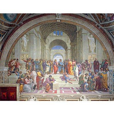 Puzzle Ravensburger-16669 Raffael: Schule von Athen