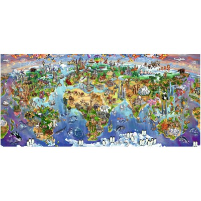 Puzzle Ravensburger-16698 World Wonders