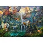 Puzzle  Ravensburger-16721 Dragon Forest