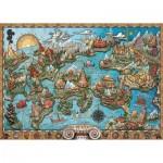 Puzzle  Ravensburger-16728 Atlantis
