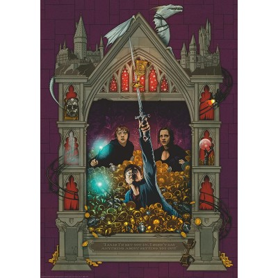 Puzzle Ravensburger-16749 Harry Potter and the Deathly Hallows
