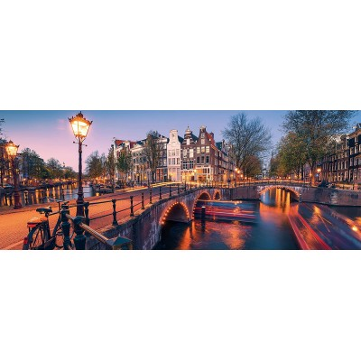Puzzle Ravensburger-16752 Amsterdam by Night