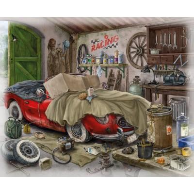 Ravensburger-16882 Exit Puzzle - Garage