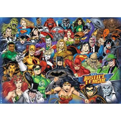 Puzzle  Ravensburger-16884 Challenge - DC Comics - Justice League