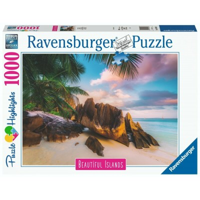 Puzzle  Ravensburger-16907 Beautiful Islands - Seychelles