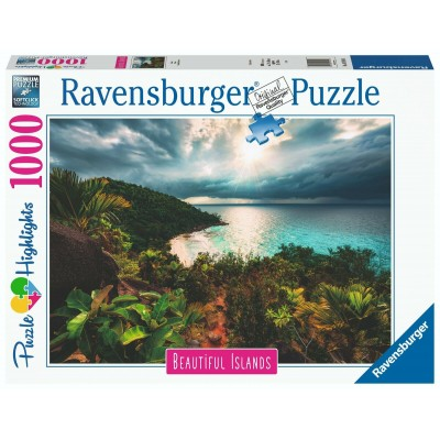 Puzzle  Ravensburger-16910 Beautiful Islands - Hawaii
