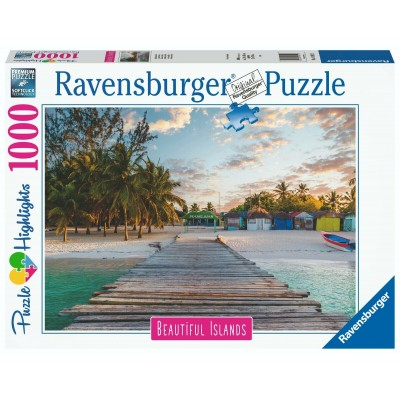 Puzzle  Ravensburger-16912 Beautiful Islands - Maldives