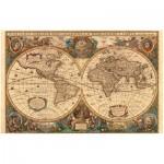 Puzzle  Ravensburger-17411 Alte Weltkarte