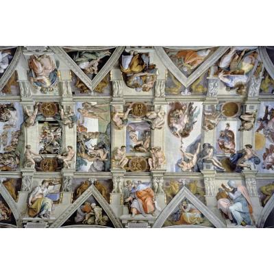 Puzzle  Ravensburger-17429 Sixtinische Kapelle