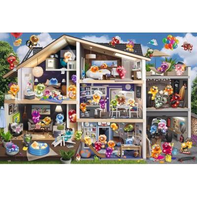 Puzzle  Ravensburger-17434 Gelini - Puppenhaus