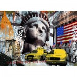Puzzle  Ravensburger-17803 New York City