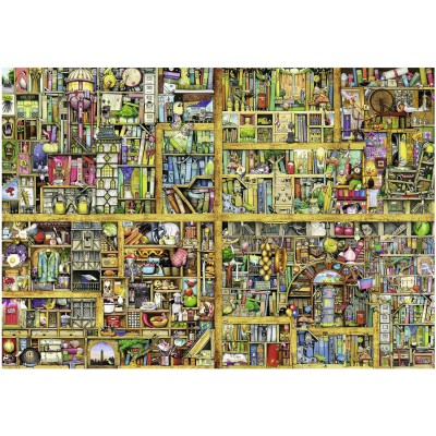 Puzzle Ravensburger-17825 Colin Thompson: Magisches Bücherregal