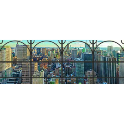 Puzzle  Ravensburger-17837 New York City Window