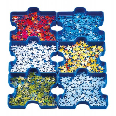 Ravensburger-17934 6 Sortierschalen: Sort your Puzzle