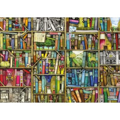 Puzzle  Ravensburger-19137 Colin Thompson: Magisches Bücherregal