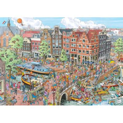 Puzzle  Ravensburger-19192 Amsterdam