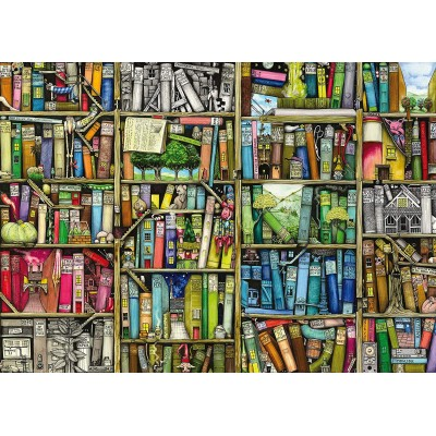 Puzzle  Ravensburger-19226 Colin Thompson - The Bizarre Bookshop