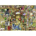 Puzzle  Ravensburger-19314 Magisches Bücherregal 2