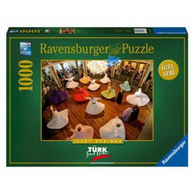 Puzzle  Ravensburger-19331 Tanzende Derwische