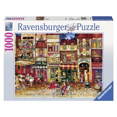 Puzzle Ravensburger-19408 Straße in Frankreich