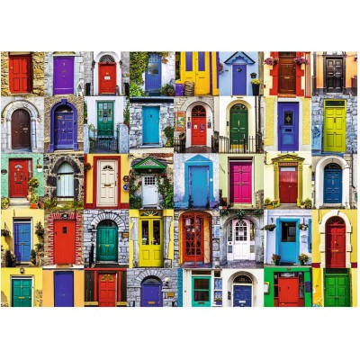 Puzzle  Ravensburger-19524 Türen