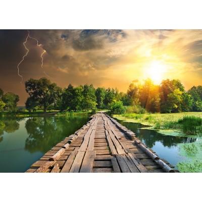 Puzzle Ravensburger-19538 Nature Edition N°3: Mystisches Licht