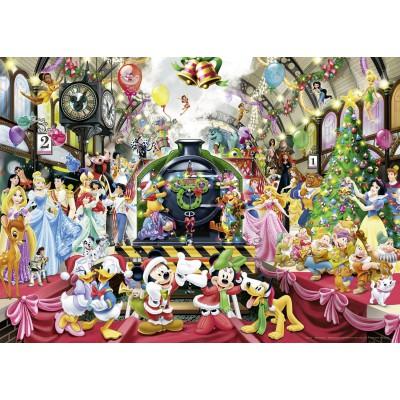 Puzzle Ravensburger-19553 Disney - Weihnachten