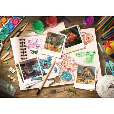 Puzzle Ravensburger-19603 Disney Pixar: Sketches