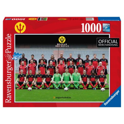 Puzzle  Ravensburger-19641 Red Devils 2016