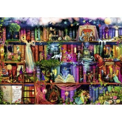 Puzzle  Ravensburger-19684 Aimee Stewart - Magische Märchenstunde
