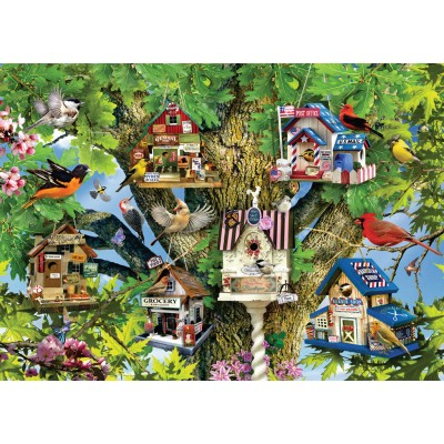 Puzzle Ravensburger-19691 Bird Village