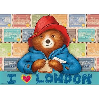 Puzzle Ravensburger-19696 I love London / Paddington