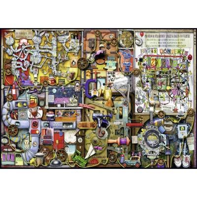 Puzzle  Ravensburger-19710 Colin Thompson: Erfindergeist