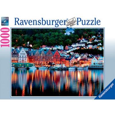 Puzzle  Ravensburger-19715 Bergen, Norwegen