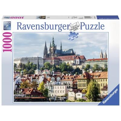 Puzzle  Ravensburger-19741 Prager Burg