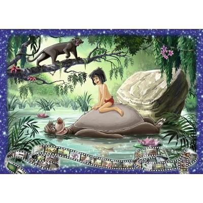 Puzzle  Ravensburger-19744 Disney - Dschungelbuch