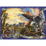 Puzzle  Ravensburger-19747 Disney - The Lion King