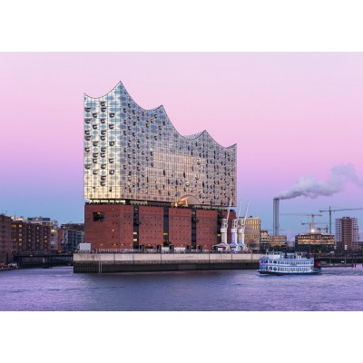 Puzzle  Ravensburger-19784 Deutschland Collection - Elbphilharmonie Hamburg