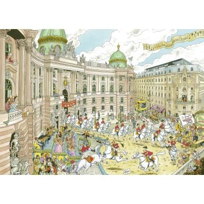 Puzzle  Ravensburger-19788 Fleroux - Wien