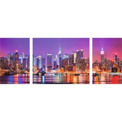 Puzzle Ravensburger-19792 New York Triptychon