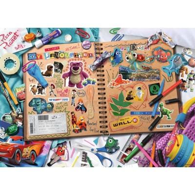 Puzzle Ravensburger-19816 Disney Pixar Scrapbook