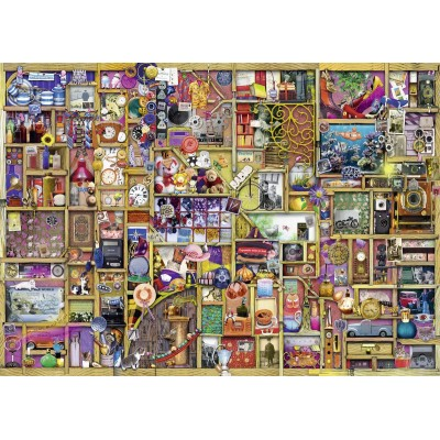 Puzzle Ravensburger-19827 The Collector's Cupboard - The Curious Cupboard Nr. 6