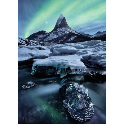 Puzzle Ravensburger-19830 Stetind in Nord-Norwegen