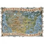 Puzzle  Ravensburger-19859 Protect & Preserve our National Parks