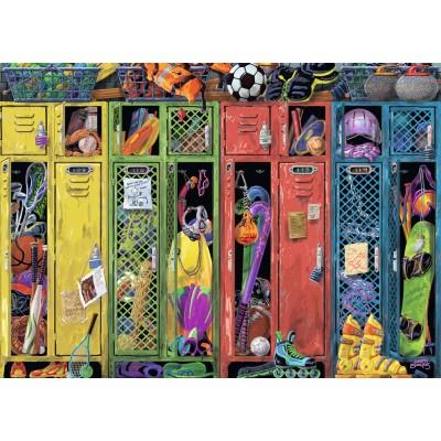 Puzzle Ravensburger-19862 Die Umkleidekabine