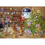 Puzzle  Ravensburger-19882 Countdown to Christmas